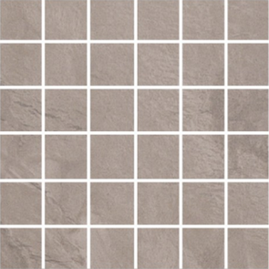 "Horizon Grigio 2"" x 2"" Mosaic on 12"" x 12"" Sheet (Matte)"