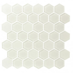 "Pure 2"" Hexagon Warm White"