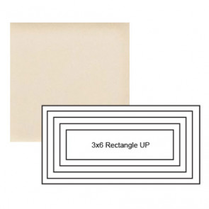 """3"""" x 6"""" Subway up Steppe in Cream"""