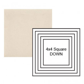 """4"""" Square down Steppe in Cloud Cover"""