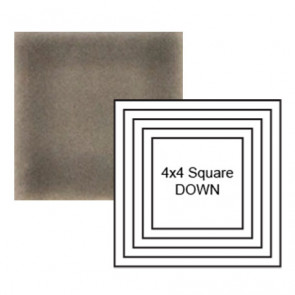 """4"""" Square down Steppe in Cold Rolled"""