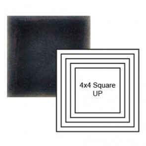 "4"" Square up Steppe in Dark Denim"