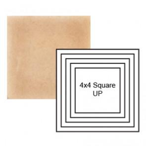 """4"""" Square up Steppe in Pebbled Courtyard"""