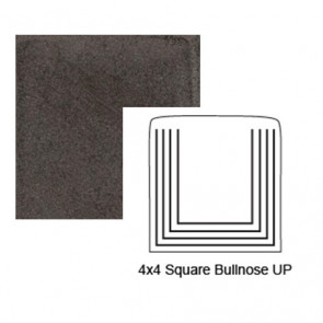 Square Up Steppe Bullnose in Iron Ore