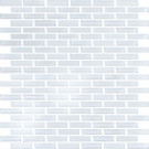 "Vetro Snow White 1/2"" x 2"" Staggered Brick"