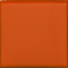 California Revival Large Square Field Tile in Orange