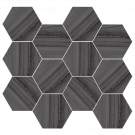 Lakestone Pewter 3.25 Hex Mosaic