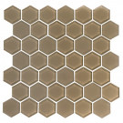 "Pure 2"" Hexagon Mocha"