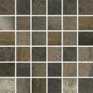 Reactions Semi-Polished Mosaic in Brown