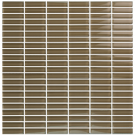 "Vetro Warm Beige 1/2"" x 2"" Straight Brick"