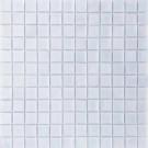 "Erin Adams Glass Mosaic, 1"" x 1"" in Malta Ice"