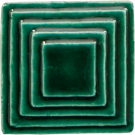 "2"" Square up Steppe in Emerald"