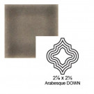 "2 1/8"" x 2 1/2"" Arabesque down Steppe in Cold Rolled"