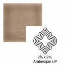 "2 1/8"" x 2 1/2"" Arabesque up Steppe in Stampede"