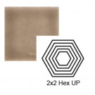 "2"" x 2 1/4"" Hexagon up Steppe in Stampede"