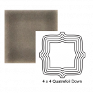 Quatrefoil down Steppe in Cold Rolled