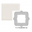Quatrefoil up Steppe in Crystal White