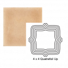 Quatrefoil up Steppe in Pebbled Courtyard