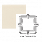 Quatrefoil up Steppe in Vanilla Bean