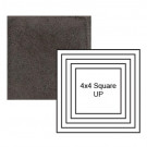 """4"""" Square up Steppe in Iron Ore"""
