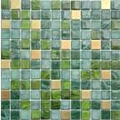 """Erin Adams Glass Mosaic, 1"""" x 1"""" in Jaspilite"""