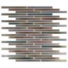 """Erin Adams Glass Mosaic, 7/16"""" x 6"""" in Limonite, pencil mosaic"""