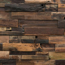 Reclaimed Boatwood Dark Panels