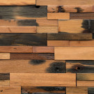 Reclaimed Boatwood Multi-colored Panels