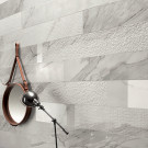 "White Experience Apuano 4"" x 12"" Mix (Six Surfaces)"