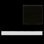 California Revival Wide Flat Liner in Black