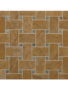 CA Stone and Mosaic Grande Dark Basketweave