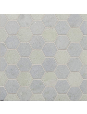 CA Stone and Mosaic Large Hexagon Set Pattern