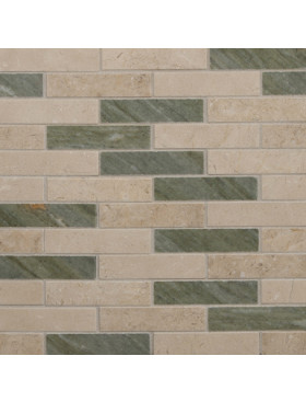 CA Stone and Mosaic Long Brick Random