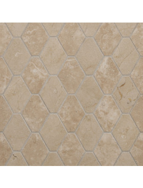 CA Stone and Mosaic Retro Hexagon Stripe