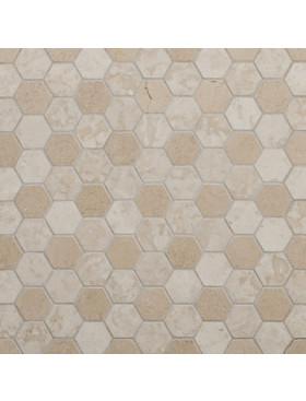 CA Stone and Mosaic Small Hexagon Light
