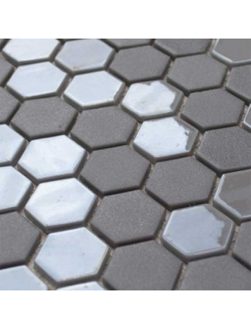 Onix Hexagon Pewter