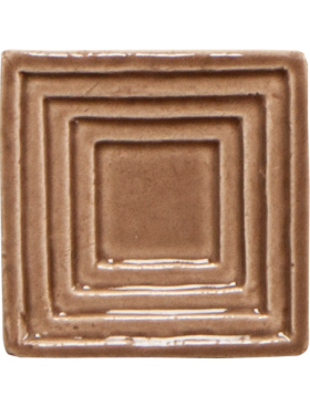 Square (small) down Steppe in Chocolate Milk