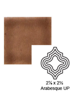 Arabesque (small) up Steppe in Chocolate Milk