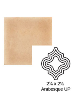 Arabesque (small) up Steppe in Pebbled Courtyard