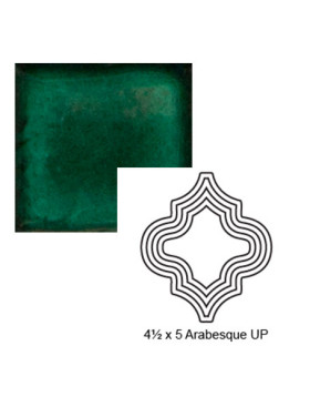 Arabesque up Steppe in Emerald