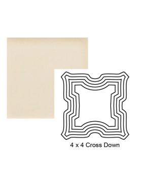 Cross down Steppe in Cream