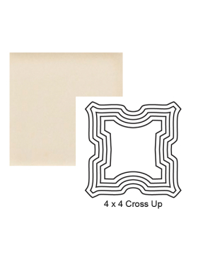 Cross up Steppe in Cream