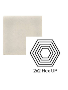 Hexagon (small) up Steppe in Misty Morning
