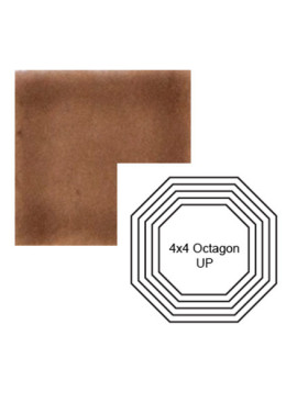 Octagon up Steppe in Chocolate Milk