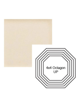 Octagon up Steppe in Cream