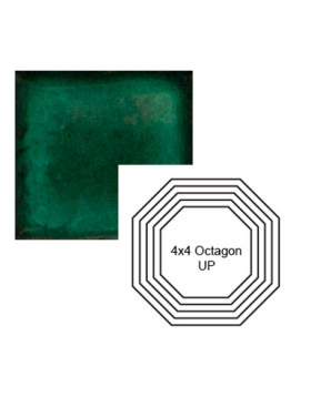 Octagon up Steppe in Emerald