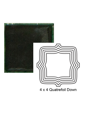 Quatrefoil down Steppe in Copper Ore