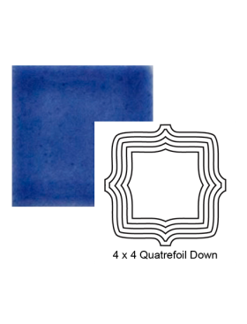 Quatrefoil down Steppe in Very Royal