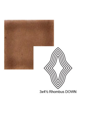Rhombus down Steppe in Chocolate Milk
