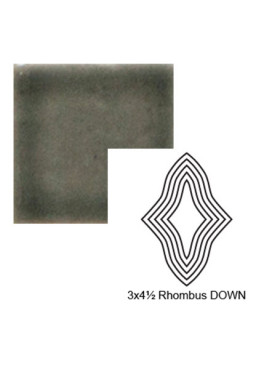 Rhombus down Steppe in Jet Stream